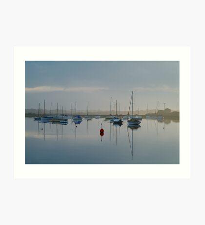 Swan Bay, Queenscliff Art Print