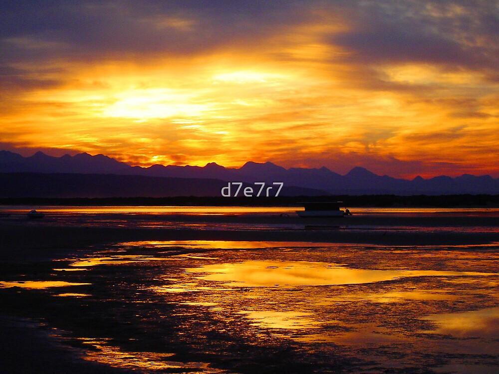 Golden Sky by d7e7r7