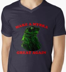 Make A Myrka Great Again Men's V-Neck T-Shirt
