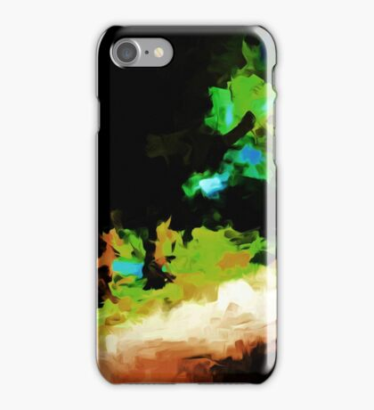 Trees and a Path iPhone Case/Skin