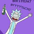Happy Birthday BYYYYYACH Card by MSBgraphics