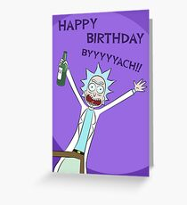 Happy Birthday BYYYYYACH Card Greeting Card
