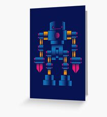 Big Robot Greeting Card
