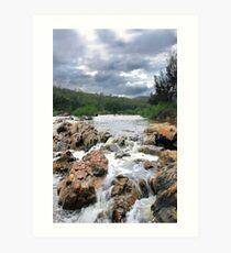 Avon River - Western Australia  Art Print