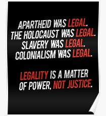 legal. Poster