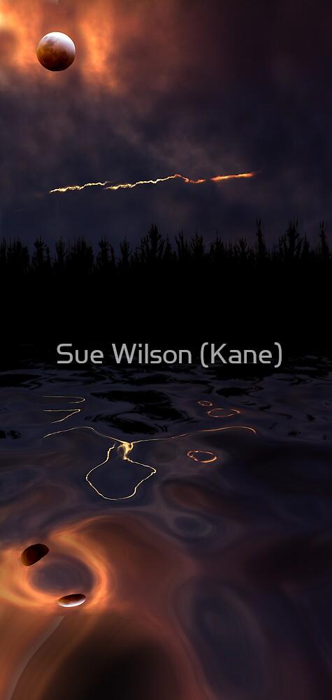 Bad moon rising by Sue Wilson (Kane)