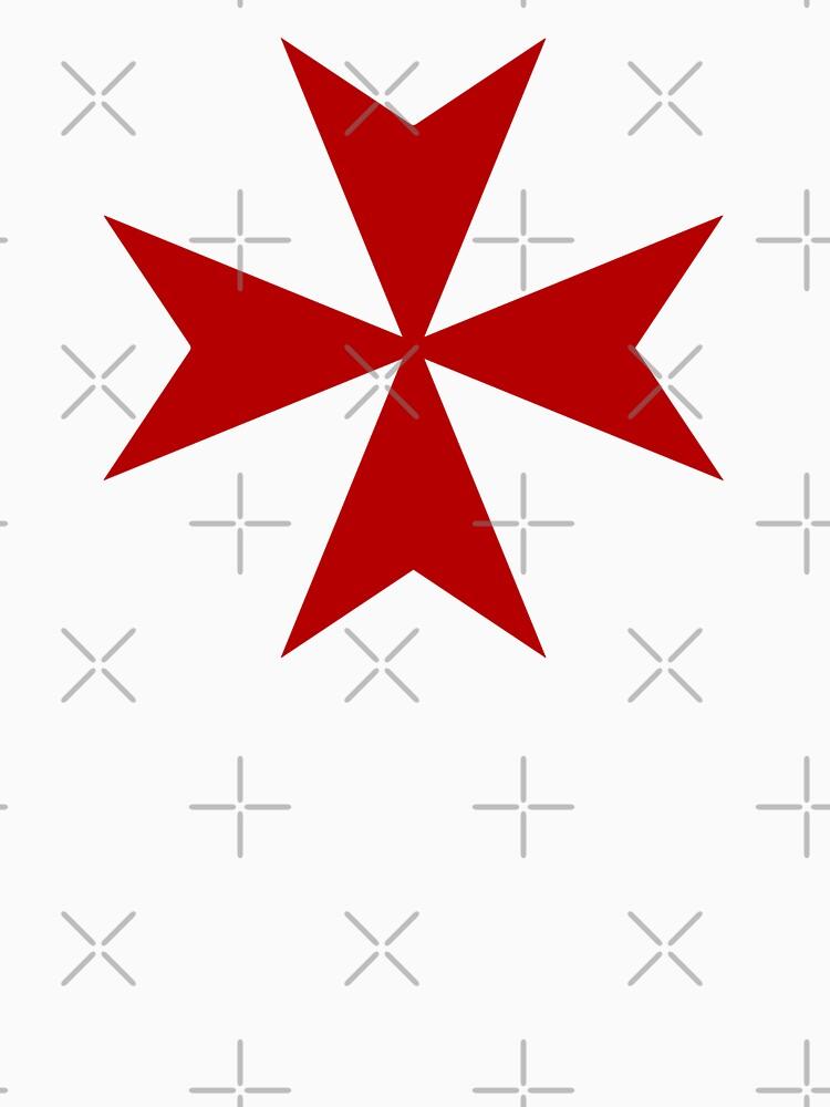 Maltese cross - Knights Templar - Holy Grail -  The Crusades by createdezign