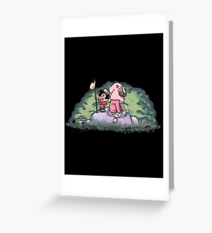 Steven S Adventure Gn Greeting Card