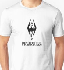 Skyrim - Death to the Stormcloaks! T-Shirt