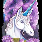 Unicorn in the Woods by ProfessorBees