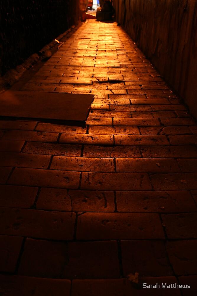 Dark Underpass by Sarah Matthews