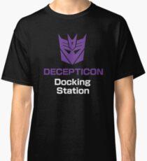 Purple Docking Station Classic T-Shirt