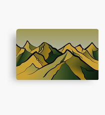 Mountains of the Wasteland Canvas Print