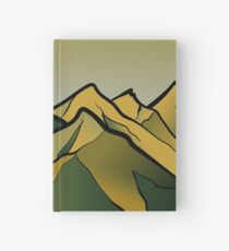 Mountains of the Wasteland Hardcover Journal