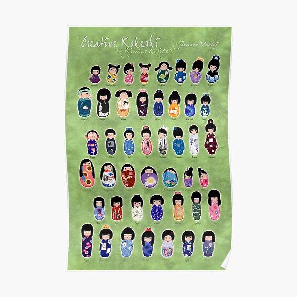 Creative Kokeshi, English version Poster