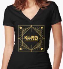 KARD Women's Fitted V-Neck T-Shirt