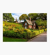 The Gardener's Cottage in the morning light. Photographic Print