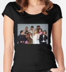 Clueless group tee Women's Fitted Scoop T-Shirt