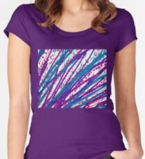 Psychedelic Splash  Women's Fitted Scoop T-Shirt