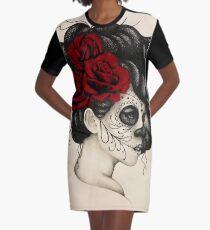 Dia de los Muertos Graphic T-Shirt Dress