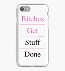 Feminist Motto iPhone Case/Skin