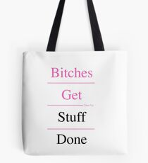 Feminist Motto Tote Bag