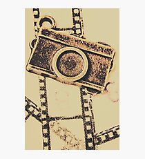 Old film camera Photographic Print