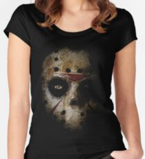 JASON! Women's Fitted Scoop T-Shirt