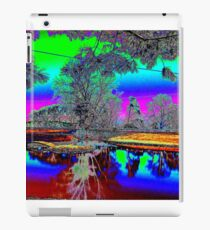 Psychedelic pond iPad Case/Skin