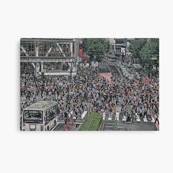 Shibuya Shuffle Canvas Print