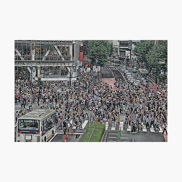 Shibuya Shuffle Photographic Print