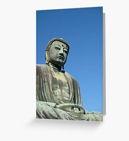 The Buddha of Kamakura Greeting Card