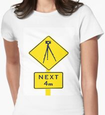 Tripod Ahead Women's Fitted T-Shirt
