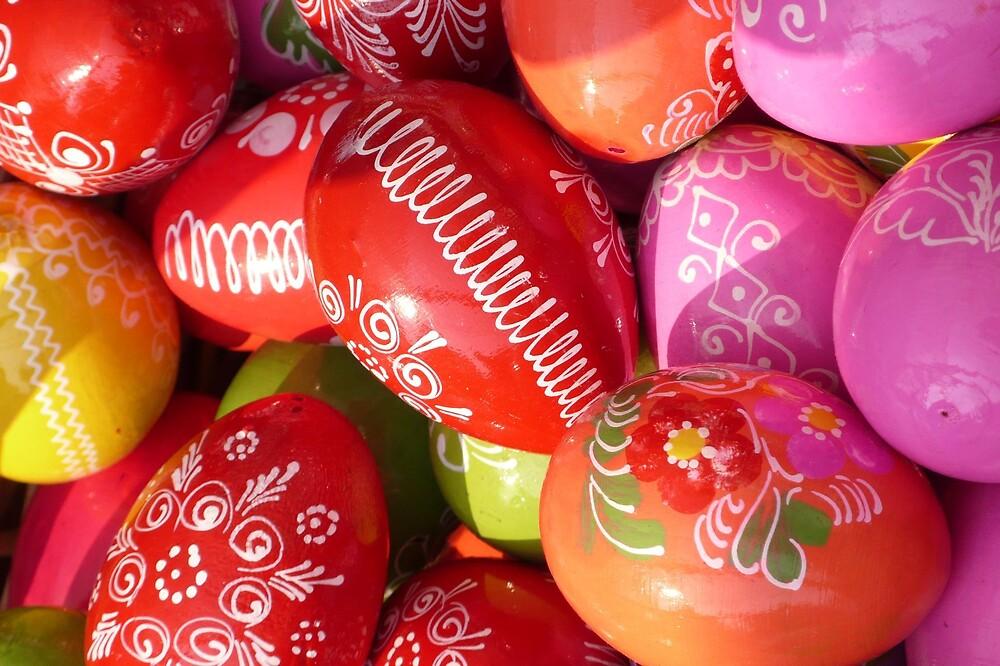 Easter eggs by noirerose