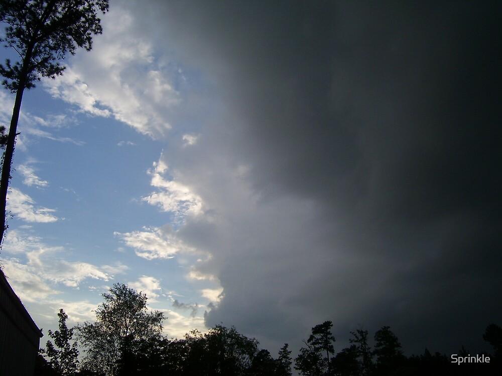 Veil of Clouds by Sprinkle