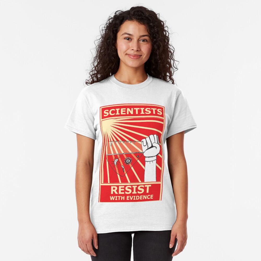 Scientists Resist Flask Classic T-Shirt