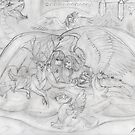 Mythical Animals and Angels with Dragons and Unicorns by Stephanie Small