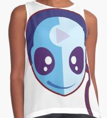 Music Android Contrast Tank