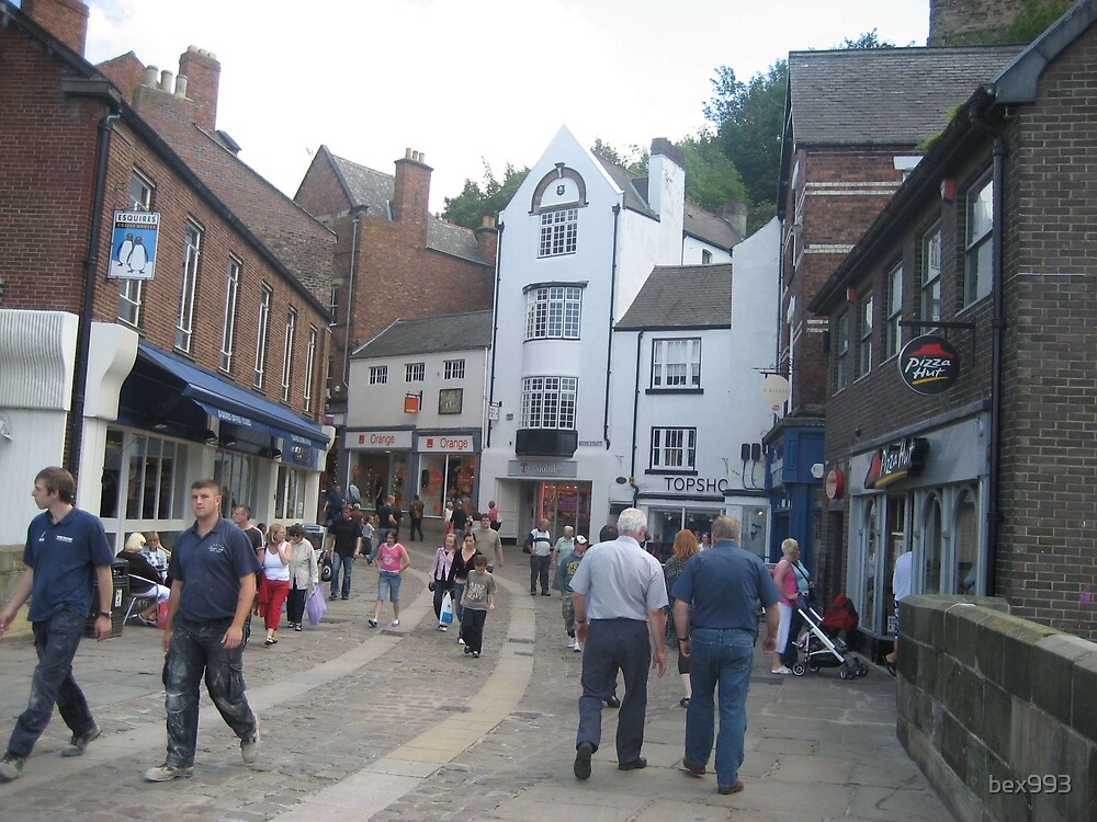 Durham town centre by bex993
