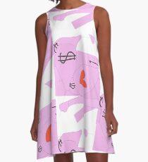 oioioioiirise o0o0o0o elephant of love 0-0-0-0-0-0-the0-0-0south-0-0-0will A-Line Dress