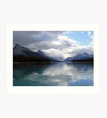 Lake Maligne July 2007 Art Print