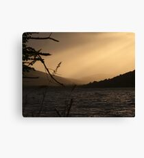 Loch Ness Sunset, Scotland Canvas Print