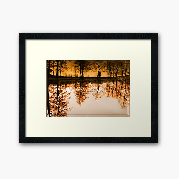 Dream of the trees Framed Art Print