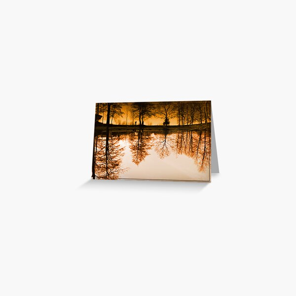 Dream of the trees Greeting Card