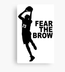 Fear The Brow - Anthony Davis Canvas Print
