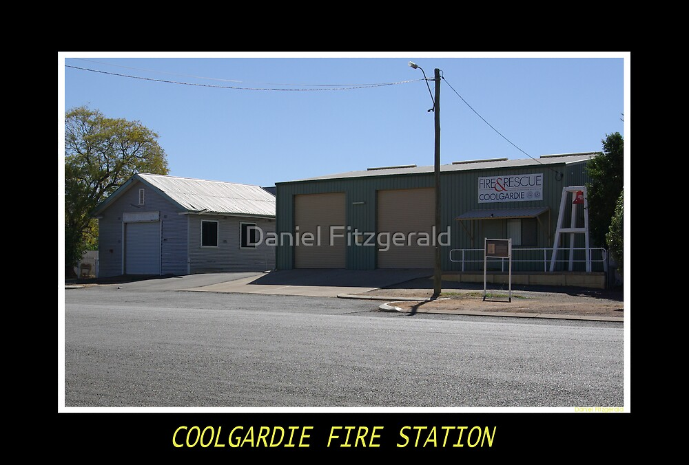 Coolgardie Fire Station by Daniel Fitzgerald