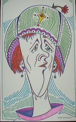 fine hat lady by madvlad
