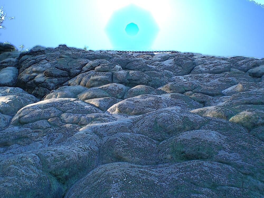Rock Climb by Steven Slusher