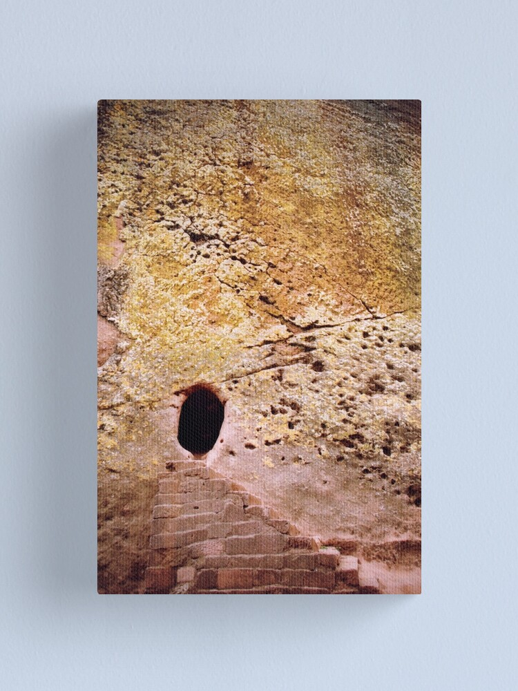 Alternate view of Living rock Canvas Print