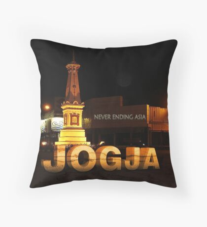 JOGJA NEVER ENDING ASIA Throw Pillow